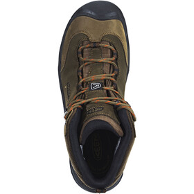 Keen Wanderer Mid WP Zapatillas Hombre, cascade brown/bossa nova